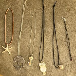 All Necklace (6) NWOT